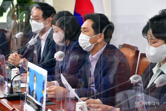 [포토] 최고위 주재하는 김기현 원내대표