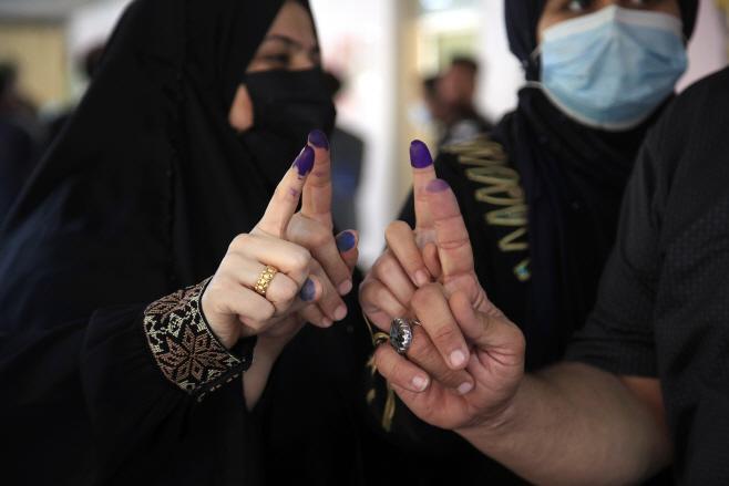 Iraq Elections <YONHAP NO-3295> (AP)
