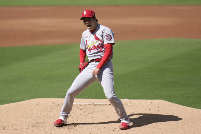 Cardinals Padres Baseball <YONHAP NO-1896> (AP)
