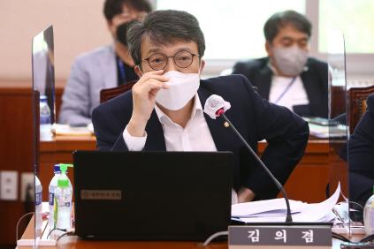 발언하는 김의겸 의원<YONHAP NO-2562>
