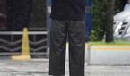김호중, 빗속의 남자!