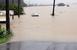 폭우에 용담댐 방류…충남 금산군 일부 지역 잠겨