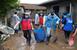 충남 폭우 피해 복구활동에 자원봉사자 역량 결집