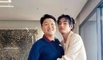 방탄소년단(BTS) 뷔, 싸이 품에 안겨 함박미소 '월드..