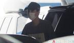 방탄소년단 슈가, 마스크+모자로 눈만 빼꼼