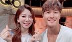 박지원 아나운서, 김종국과 선남선녀 케미 자랑