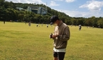 차선우(바로), 군 휴가 중 근황…반려견과 여유로운 일상