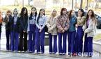 이달의소녀, 뮤톡라이브 출근길!