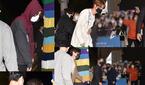 방탄소년단(BTS), `ARMY`들도 함께한 출근길