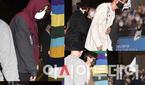 방탄소년단(BTS), 어젯밤 가로수길에서 보았다! 짧지..