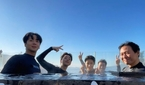 """'1박2일 시즌4' 딘딘, 촬영 비하인드컷 공개 """"뚱유니.."""