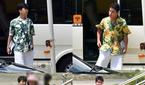 임영웅·영탁·이찬원·장민호, 함께 하와이안 셔츠 입고..