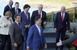 문재인 대통령, G7 정상들과 노마스크 만남…EU와 정상..
