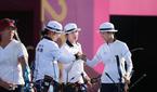 한국 여자 양궁, 올림픽 단체전 金…대회 9연패 달성(..