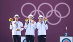 한국 女 양궁, 단체전 金…올림픽 9연패 달성 (종합)