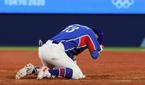 한국 야구, 미국에 1-4 패배…조별리그 2위