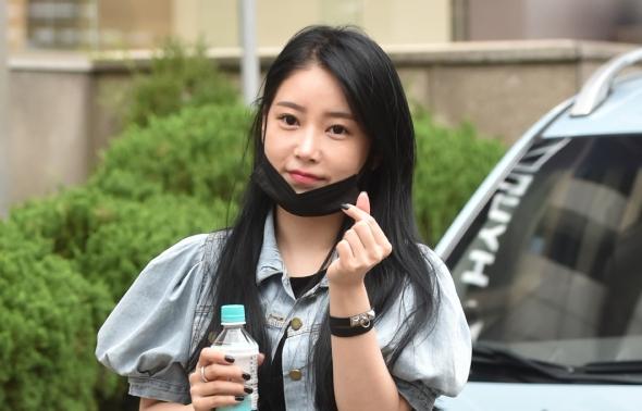 티아라 소연, 애교하트!