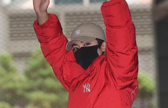 그룹 위아이 김요한, '팬들 향해~'