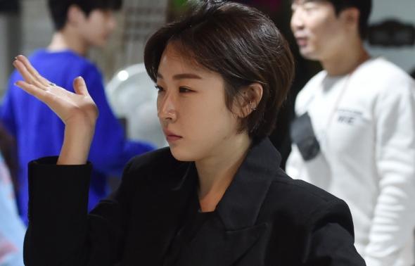 유주원, 더스테이지 열심히 연습!