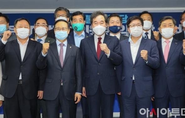 민주당 참좋은지방정부위원회 '파이팅'