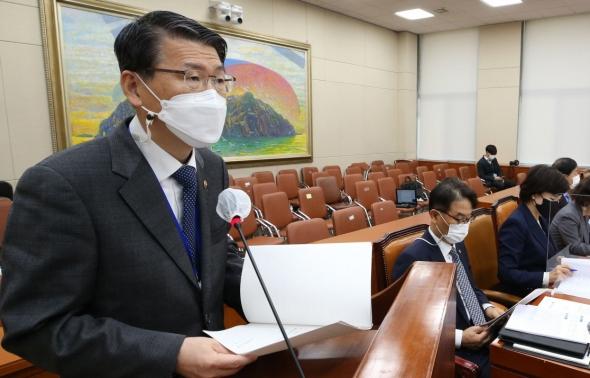 은성수 금융위원장 국회 정무위 제안설명