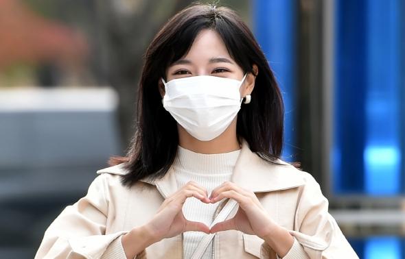 구구단 김세정, 러블리 하트!