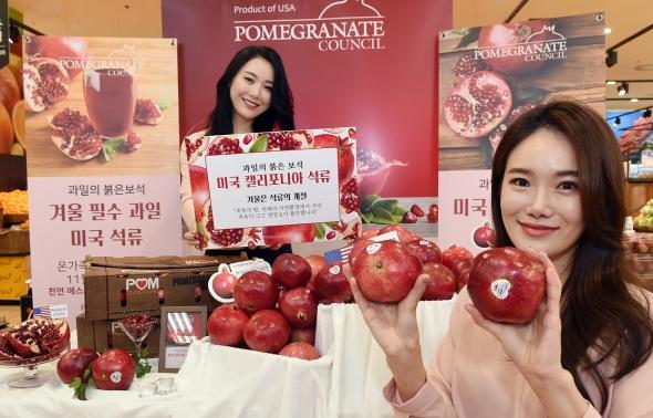 환절기 면역력에 도움되는 석류 만나보세요!