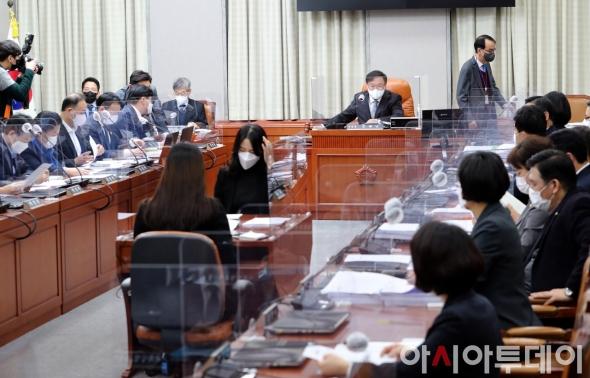 운영위원회 전체회의 주재하는 김태년