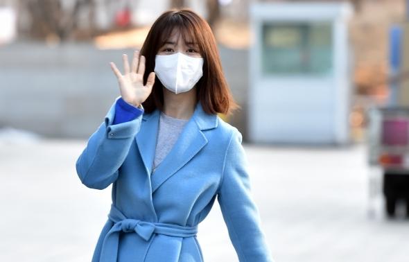 박하선, 출근길 비타민 활력소