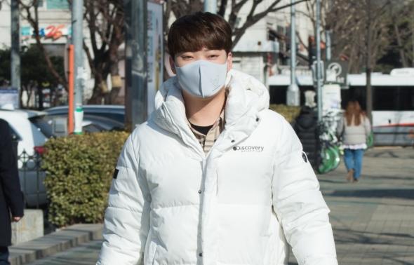 김경민, '기분좋은 발걸음'
