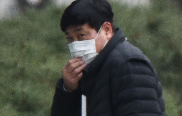 양준혁, '조심스러운 출근길'