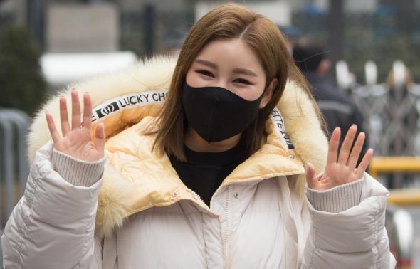 송가인, '봄처럼 따뜻한 미소'