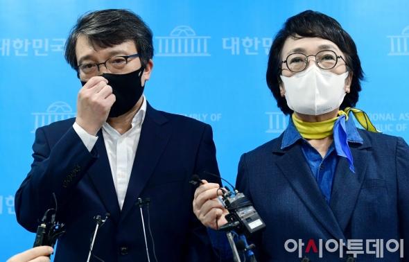 의원직 사퇴 김진애-승계 김의겸