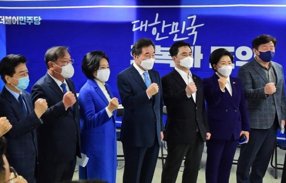 민주당 제1차 중앙선대위 회의
