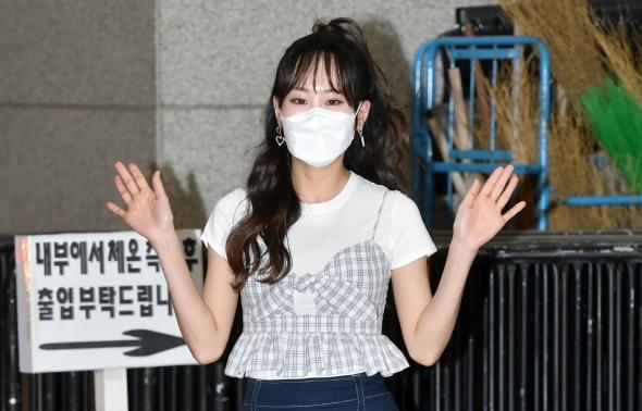 미스트롯2 김의영, 샤방샤방 인사!