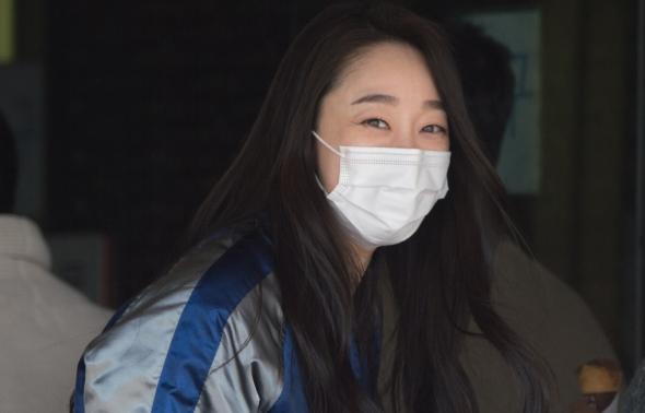최여진, '식후 행복가득 미소'