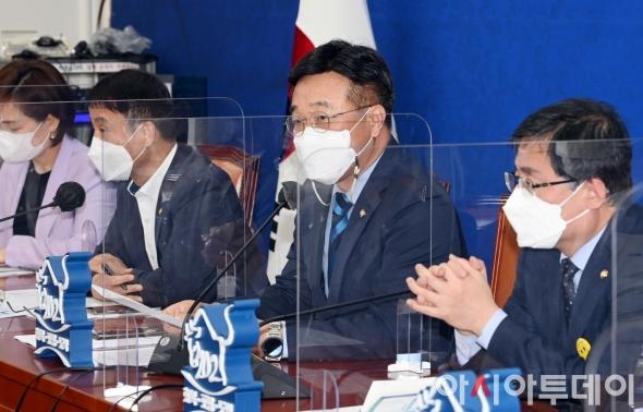 윤호중 원내대표 정책조정회의 모두발언