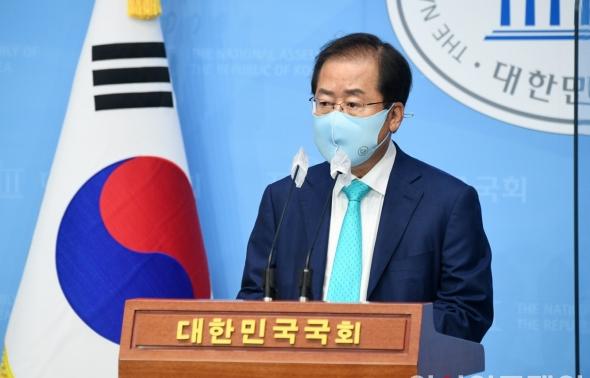 국민의힘 복당 의사 밝히는 홍준표 무소속 의원