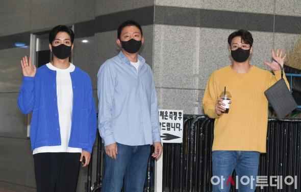 허재-허웅-허훈, '훈훈한 출근길'