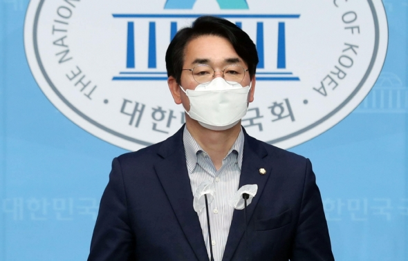 박용진 의원 '민주당 대선 예비 경선 관련 기자회견'