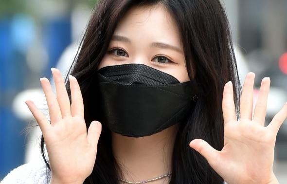 블링블링 유빈, 반가운 인사!