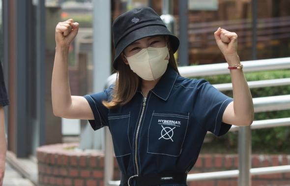 송가인, '화이팅~'